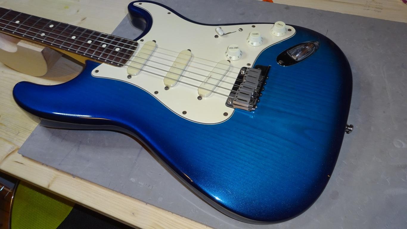Fender Strat justering