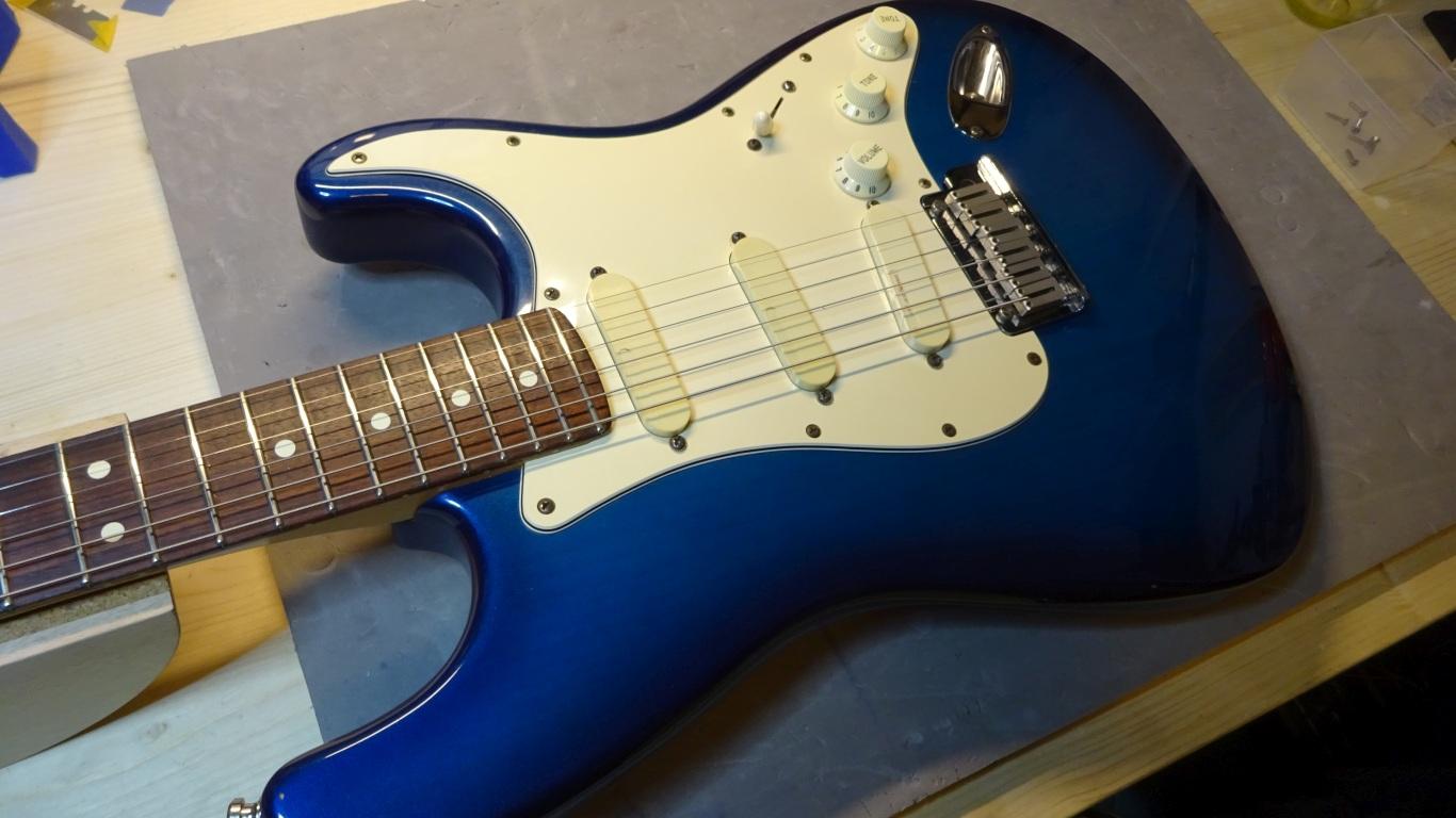 Fender Strat Plus Deluxe