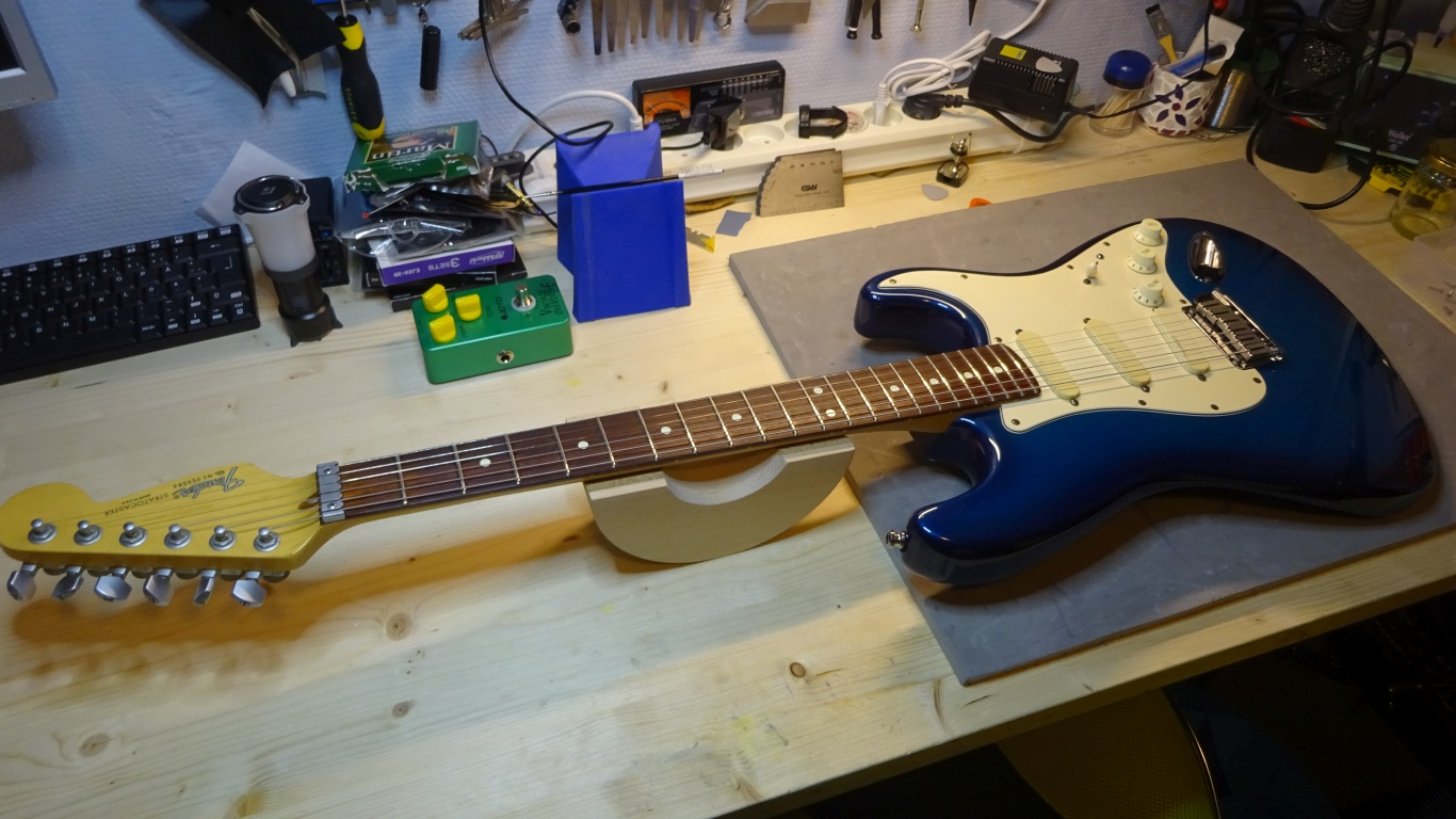 Fender Strat setup