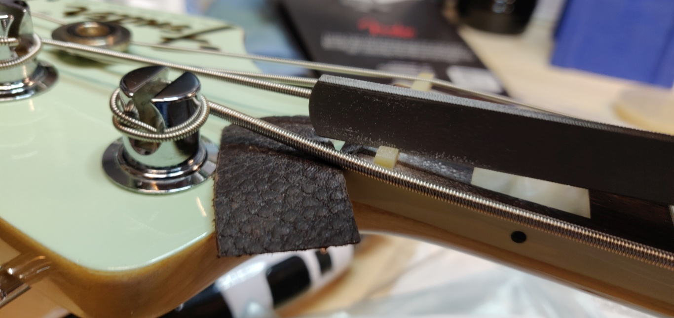 Fender Jazz Bass nye bånd